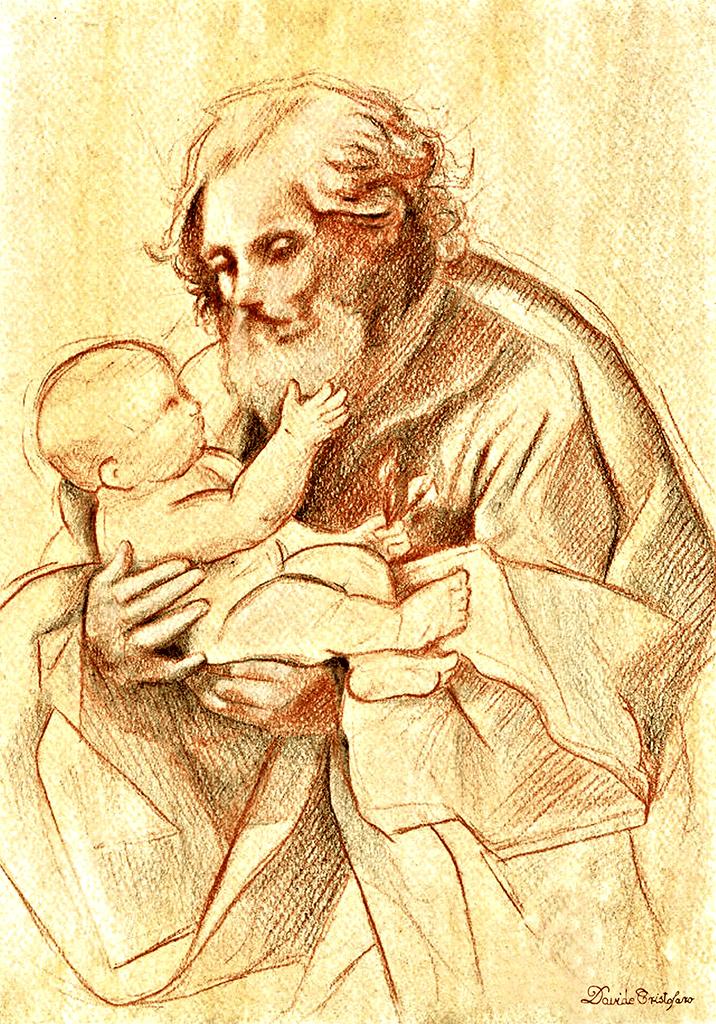St Joseph with the Infant Jesus